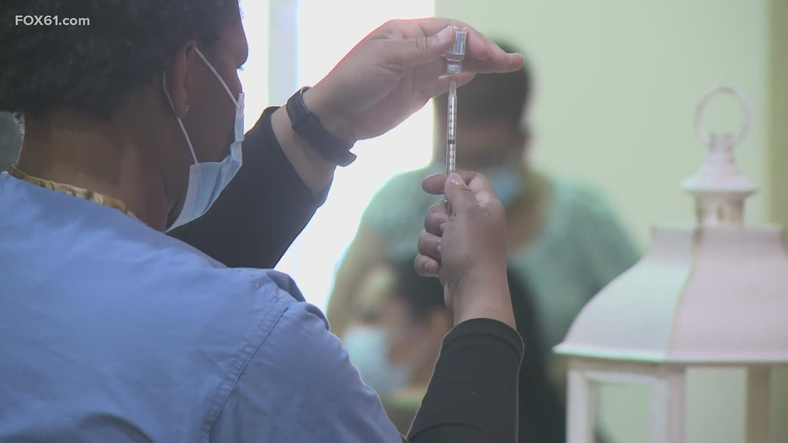 Residents react as CDC recommends masks due to surge in cases in CT