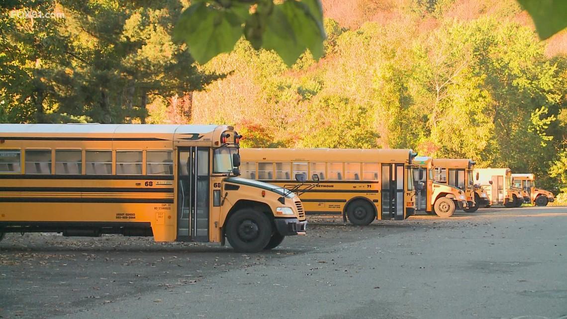 Seymour Public Schools institute community bus stops for tech school students
