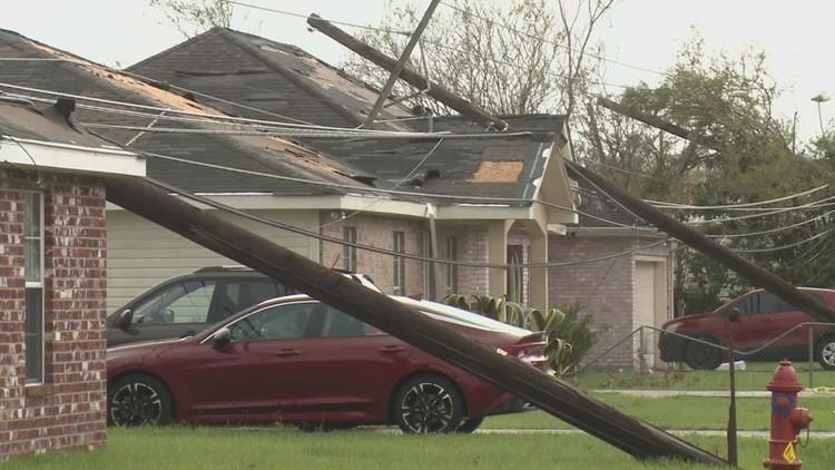 St. Charles Parish in Louisiana hit hard by Hurricane Ida