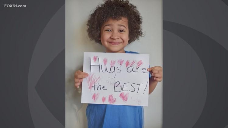 Bright Spot: Kindergarten student makes Hugging Machine