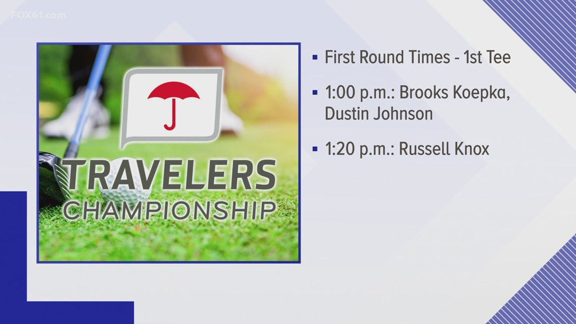 Today at Travelers: Here comes the pros