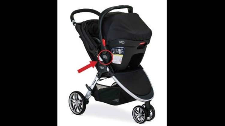 Britax recalls more than 700,000 strollers due to fall ...