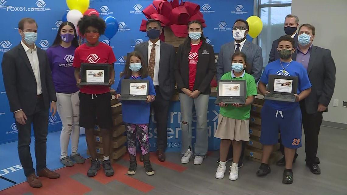 Boys and Girls Club providing 500 free laptops for children in Hartford