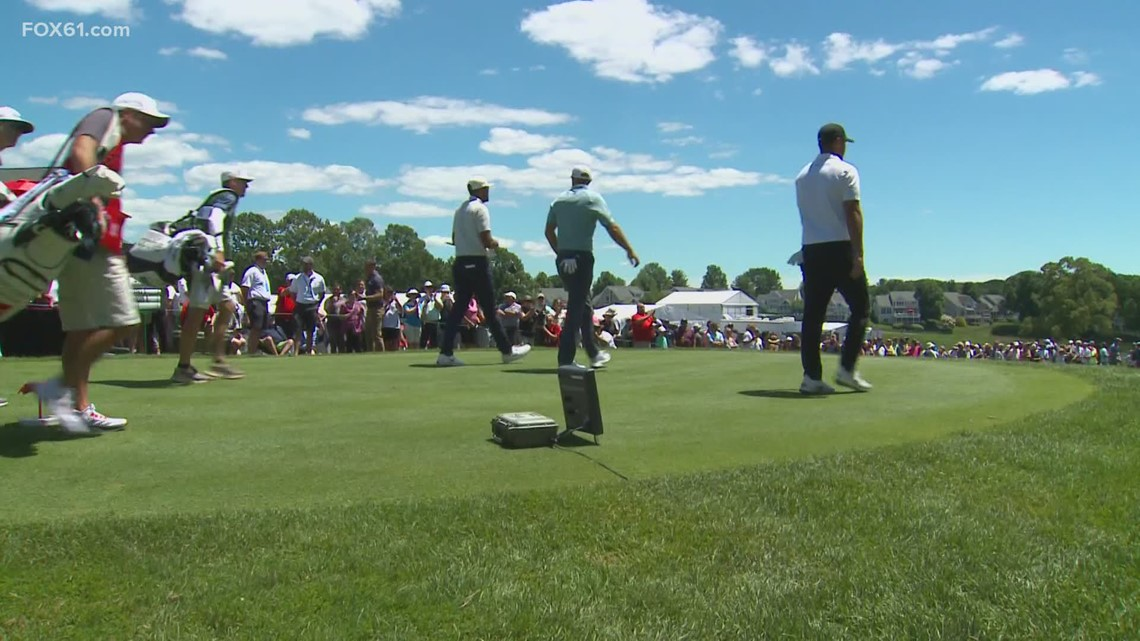 Travelers Championship: The pros take to the course