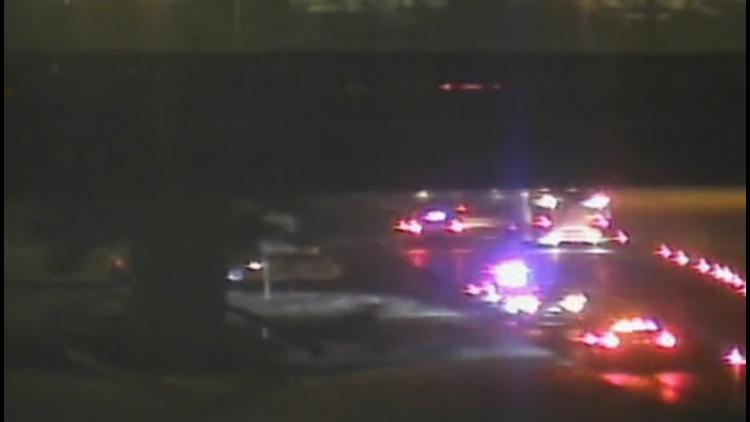 CT State Police cruiser involved in crash on I-84