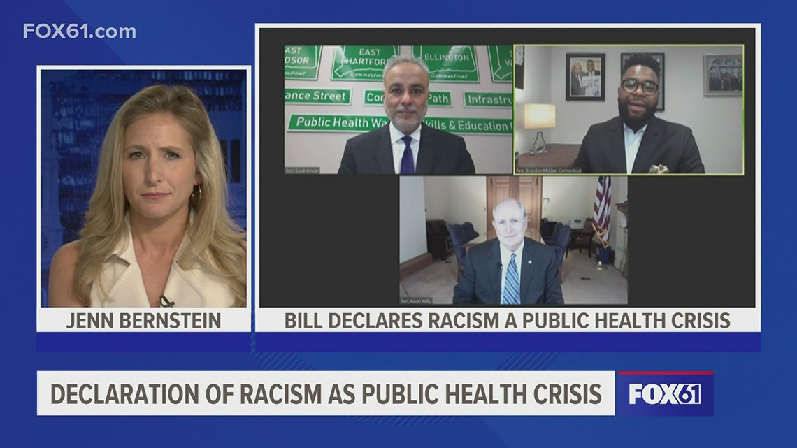 The Real Story | Bill that would declare racism as a public health crisis moves to Lamont's desk