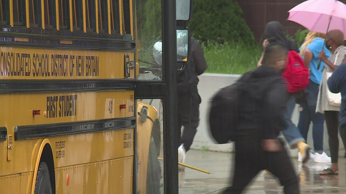 New Britain schools welcome back students on first day of school