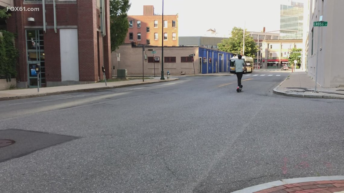 Scooter company works to help the vaccination effort in Hartford