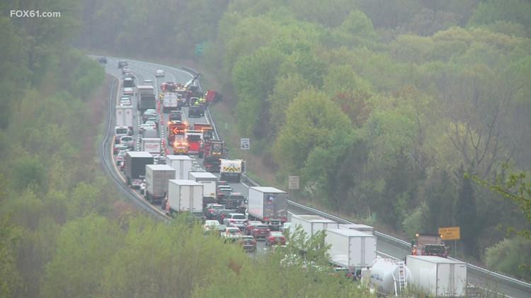 Branford man killed in I-91 southbound crash
