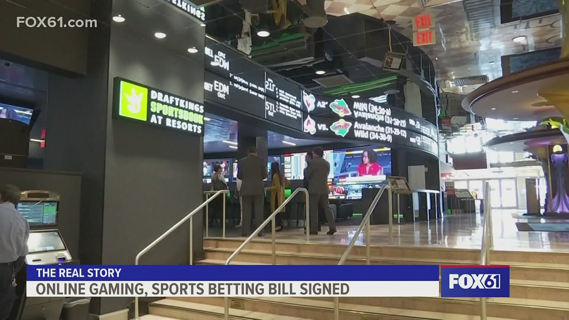The Real Story | Online gaming and sports betting in CT legalized