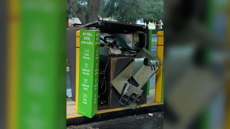 Police Are Investigating Three Atm Explosions In Two Florida