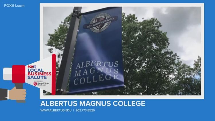 Local Business Salute: Albertus Magnus College