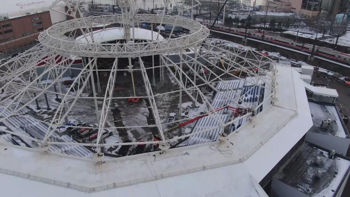 Harbor Yard Amphitheater in Bridgeport - SKY61 Drone Video