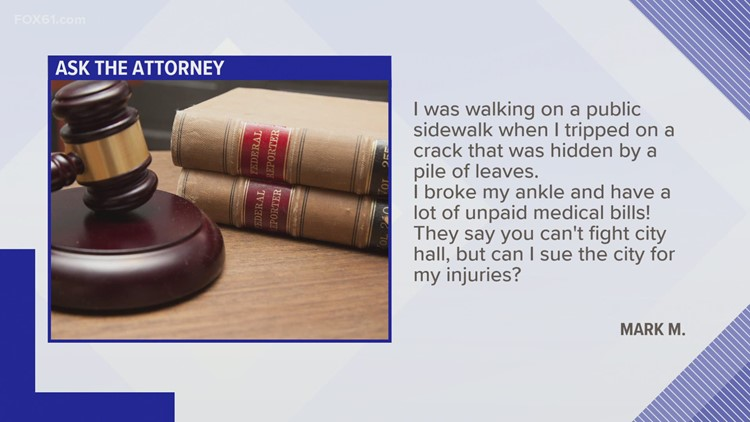 Ask the Attorney: Can I sue city hall?