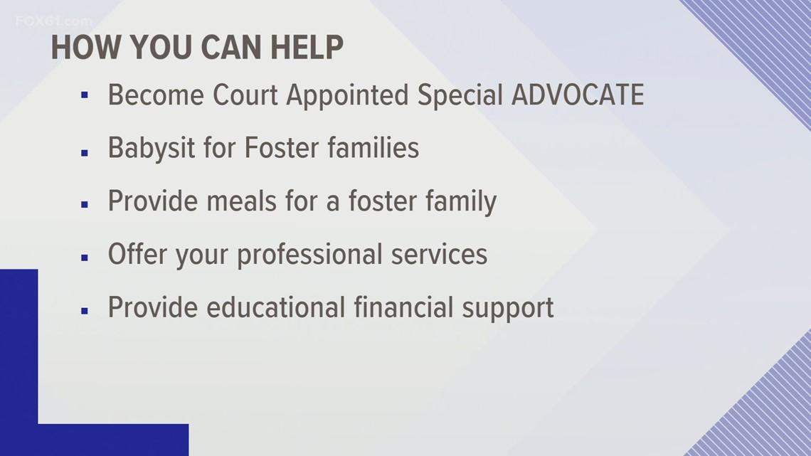 FOX61 Family First: Fostering children