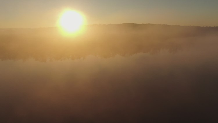 SKY61 over CT River in Cromwell