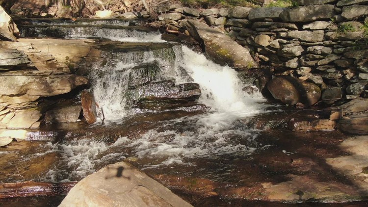 SKY61: Clark Creek Waterfall