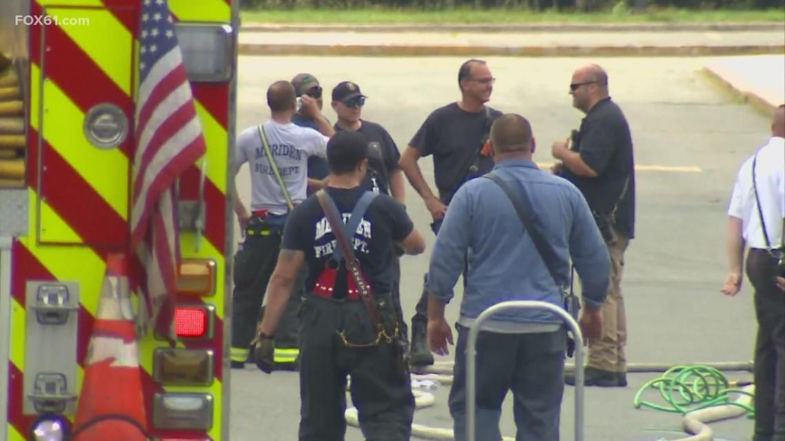 2 workers injured in Meriden