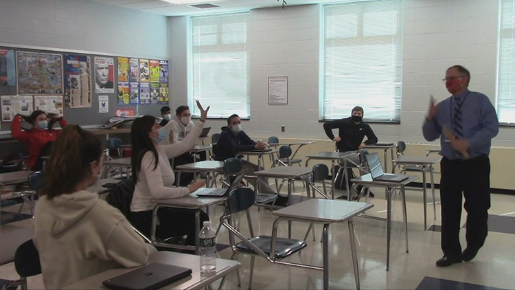 FOX61 Student News: The College Decision - Cromwell High School