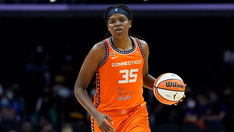 Connecticut Sun star Jonquel Jones named WNBA's best rebounder