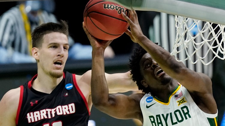 Hartford Hawks fall to Baylor Bears in first round of NCAA tournament