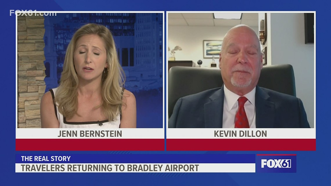 The Real Story: Kevin Dillon, CT Airport Authority Executive Director