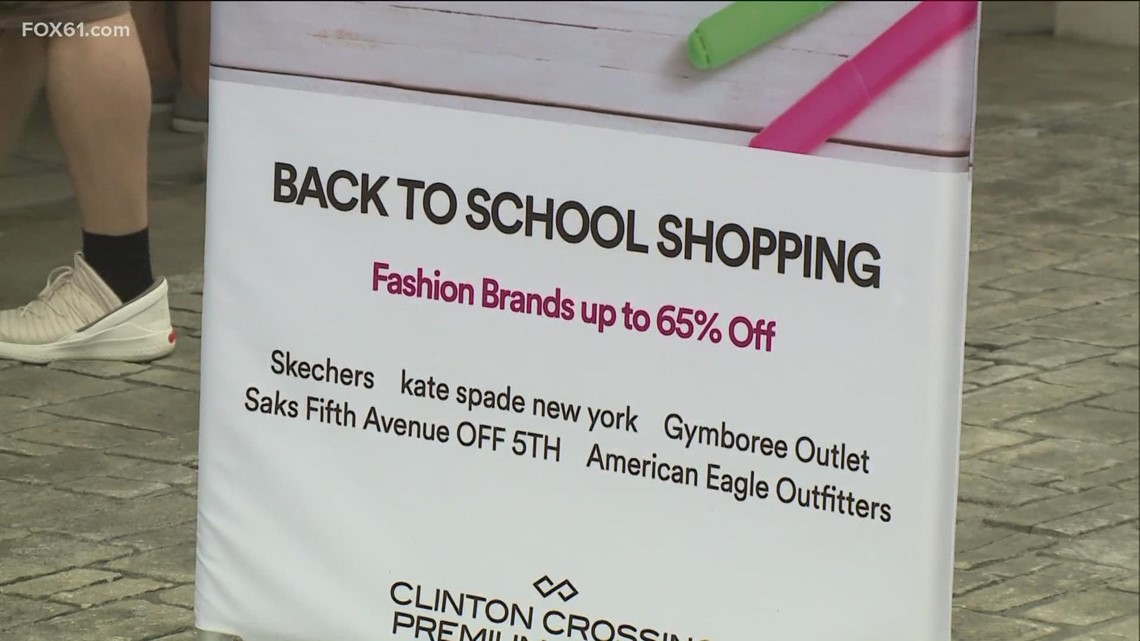 Tax free week means deals on back to school fashion