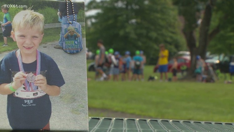 Setting their sights on Southington, the 'Race for Chase' training is in full stride