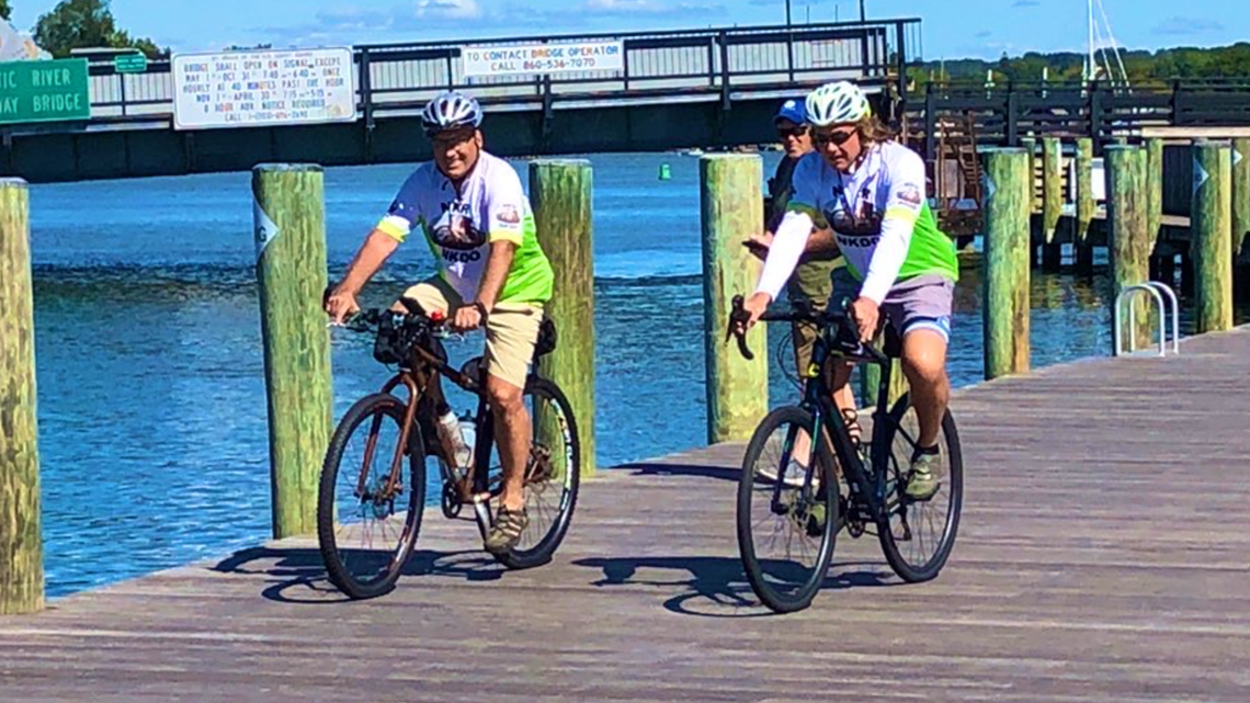 65-year-old cyclist embarks on 'The Organ Trail' to raise awareness for kidney transplants
