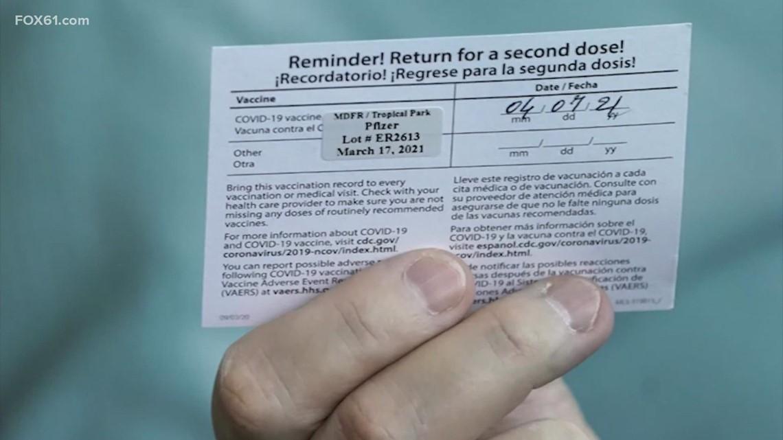 Connecticut considering vaccine passports