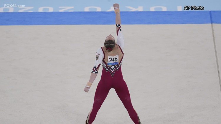 Family First   A change for gymnasts' uniforms takes center stage