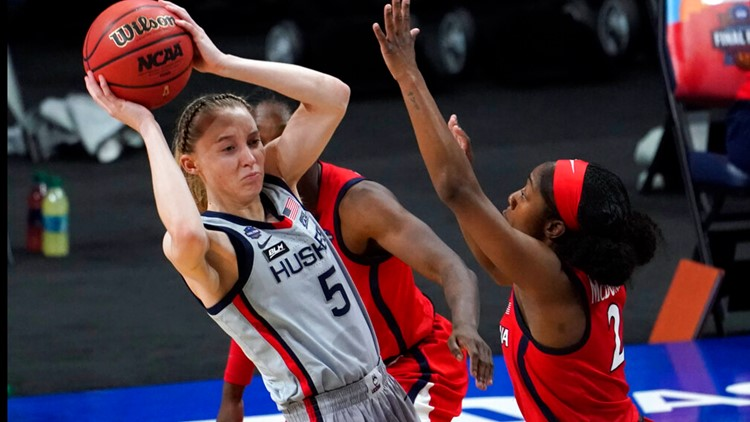 UConn's Paige Bueckers files for trademark of 'Paige Buckets' nickname
