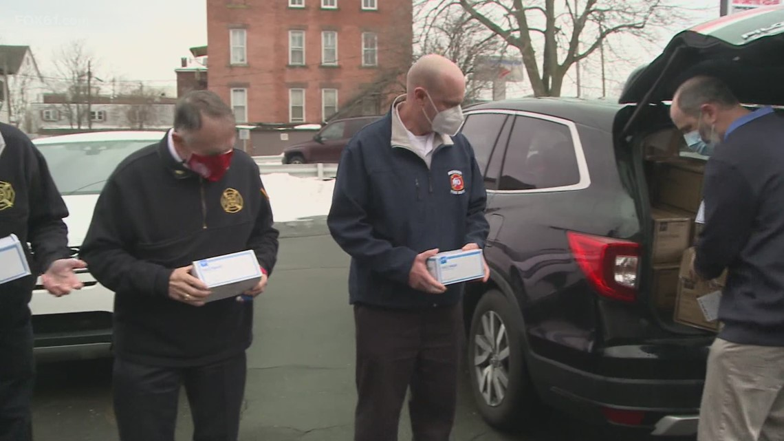 Special Delivery | 10,000 Masks Donated to Meriden First Responders