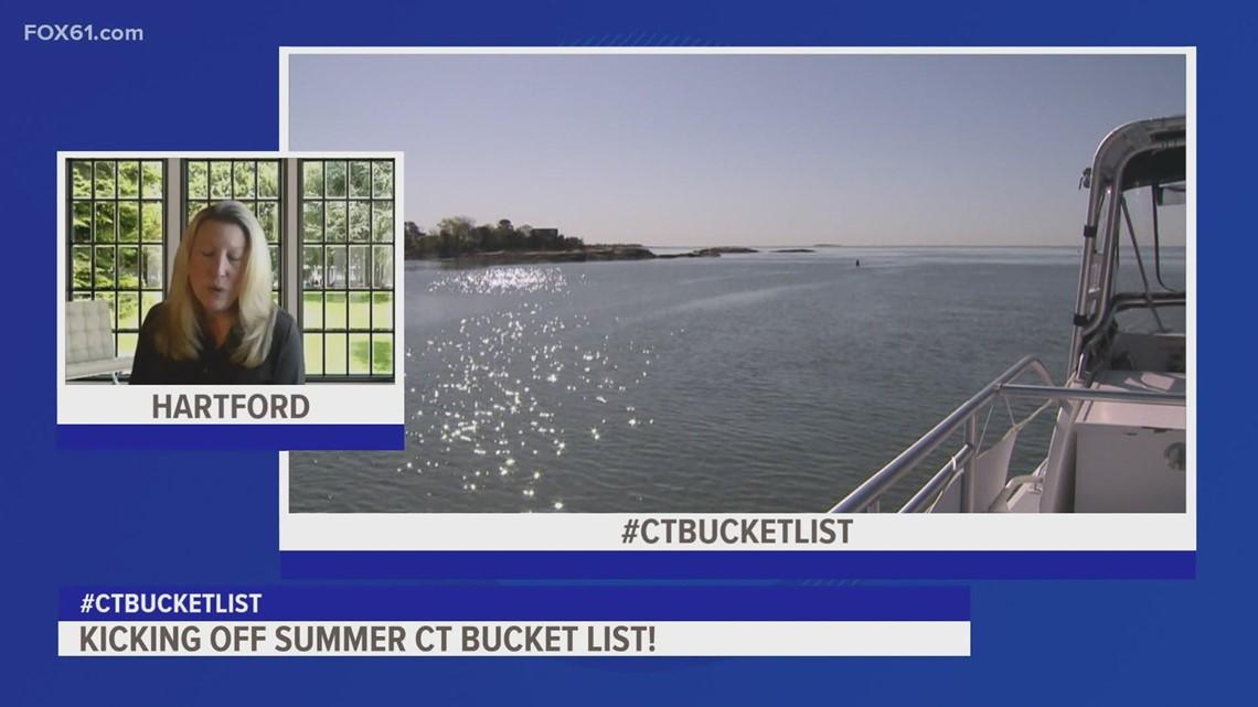 Kicking off summer CT Bucket List!