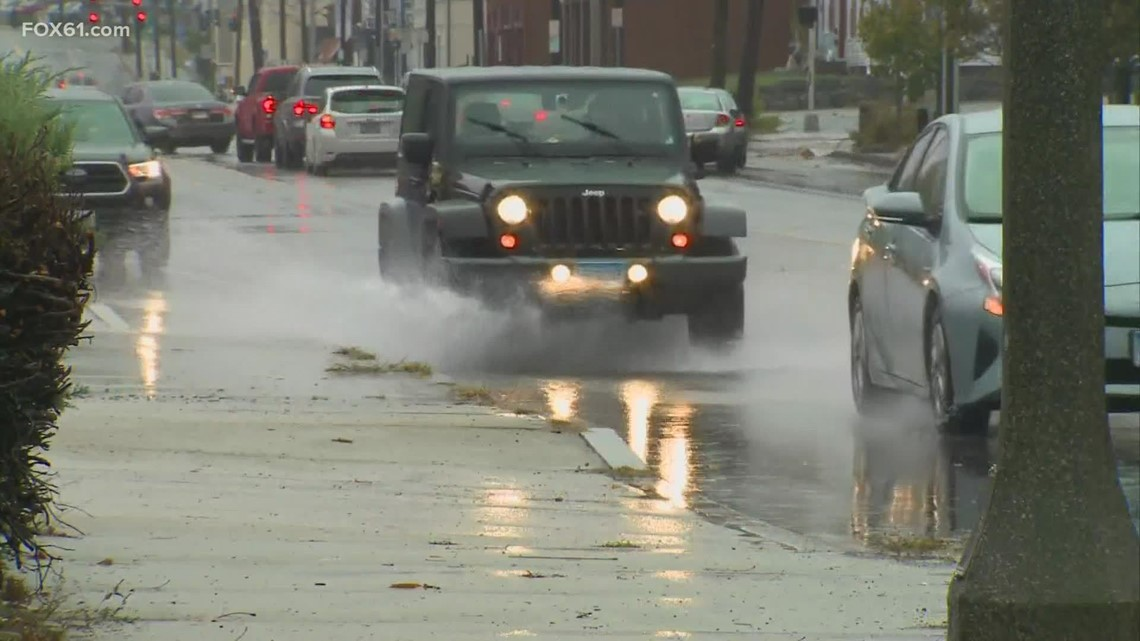 New London prepares for nor'easter