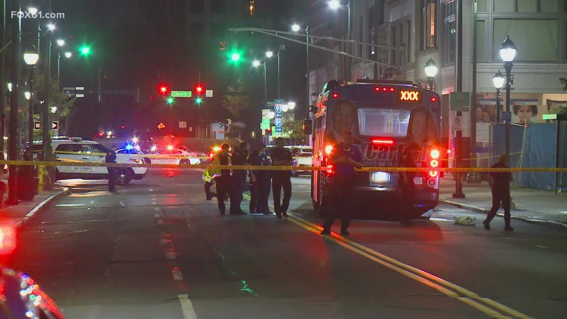Pedestrian hit by bus in New Haven, police investigating