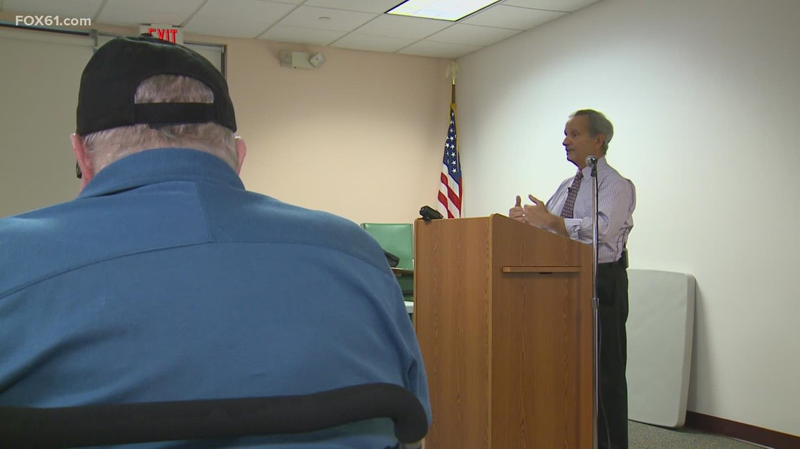 Veterans in Wallingford sharing their story