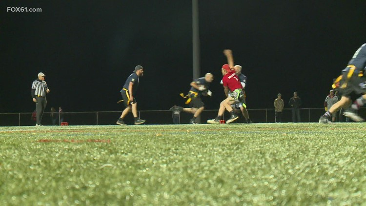 Farmington Police and Fire host benefit flag football game for injured officer