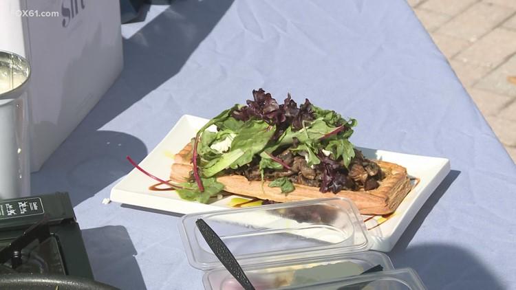 Meal House: Seacoast Mushroom Tart