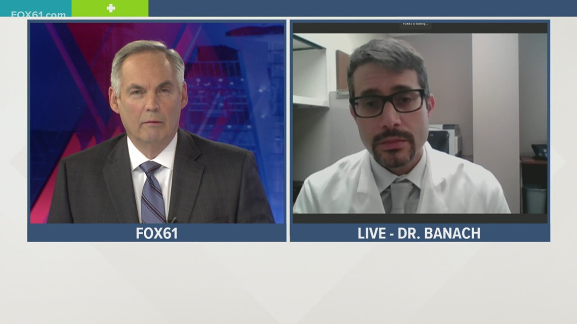 UConn Health Dr. David Banach talks about new CDC guidelines