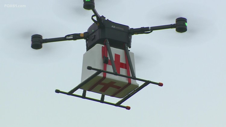 Hartford-based Aquiline Drones showcases new tech that could save lives