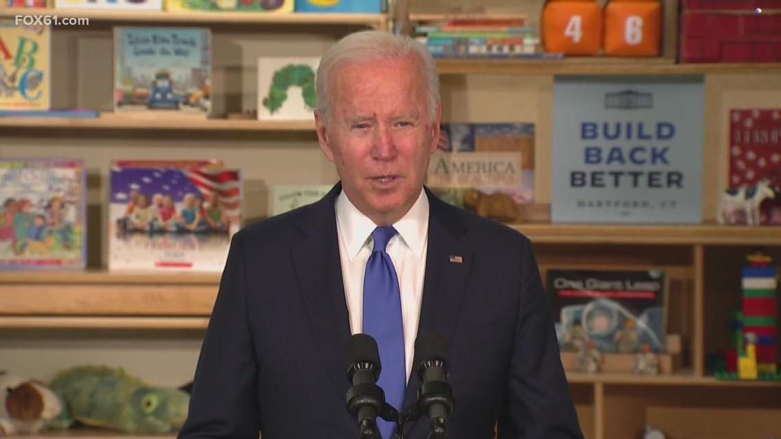 President Biden's visit to Hartford