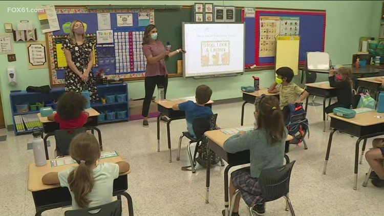 FOX61 visits 2nd grade Bugbee classroom