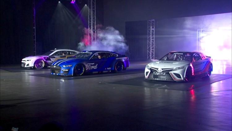 NASCAR unveils next-generation car
