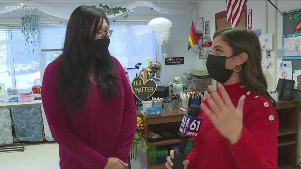Mansfield teacher named Connecticut Teacher of the Year