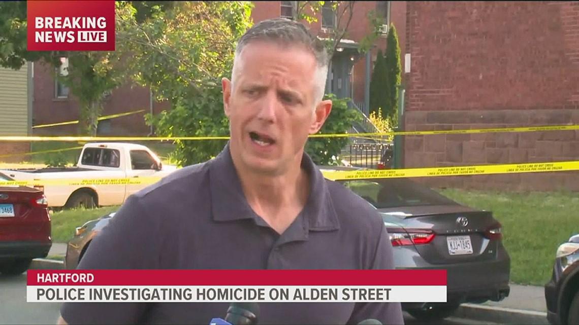 Police investigating Hartford homicide