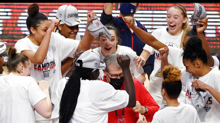 UConn finishes No. 1 in women's AP Top 25 for 16th time