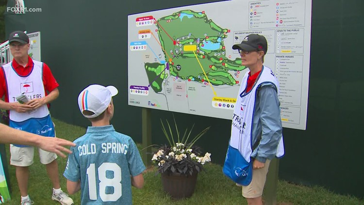 After sitting home in 2020, Travelers Golf volunteers are coming back on course