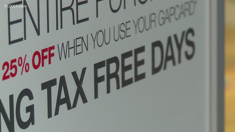 Shoppers ready to take advantage of tax free week