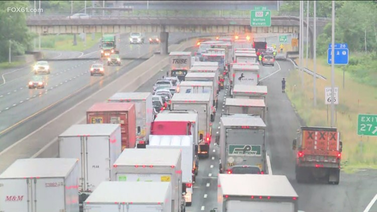 I-84 west in Cheshire closed due to shooting investigation